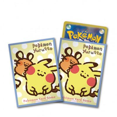 デッキシールド Pokémon Yurutto ピカチュウとデデンネ